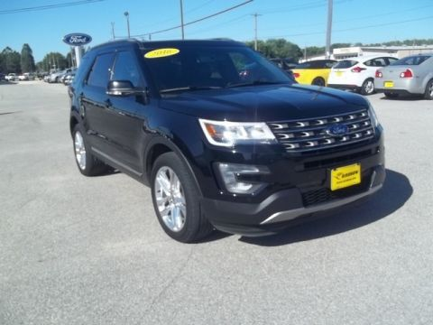 Pre-Owned 2016 Ford Explorer XLT Four Wheel Drive SUV A13357
