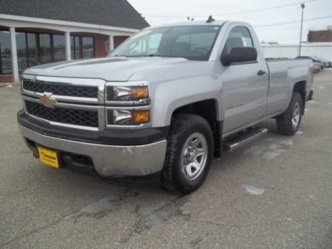 Pre-Owned 2015 Chevrolet Silverado 1500 LS Four Wheel Drive Pickup Truck 19T038A