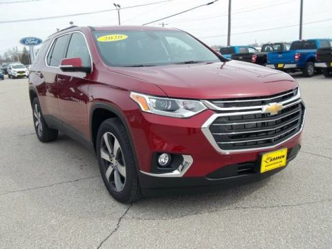 New 2020 Chevrolet Traverse LT Leather All Wheel Drive SUV 20T579