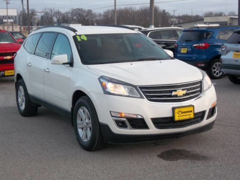 Pre-Owned 2014 Chevrolet Traverse LT All Wheel Drive SUV A13379