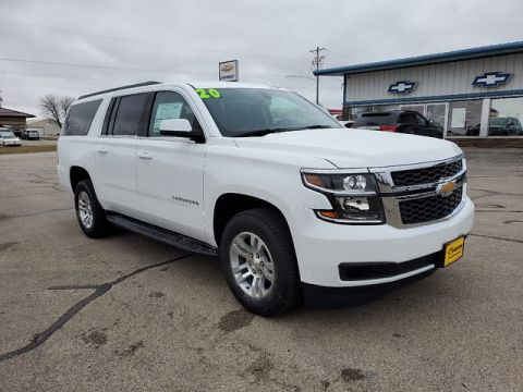 New 2020 Chevrolet Suburban LS Four Wheel Drive SUV 20T286