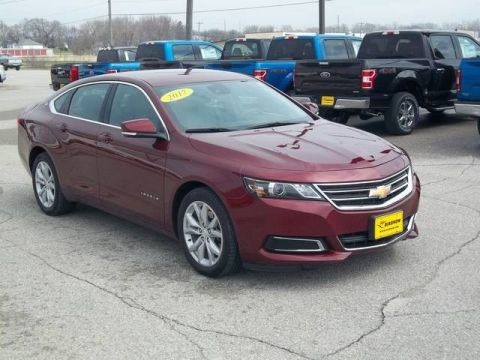 Pre-Owned 2017 Chevrolet Impala LT Front Wheel Drive Sedan A13429