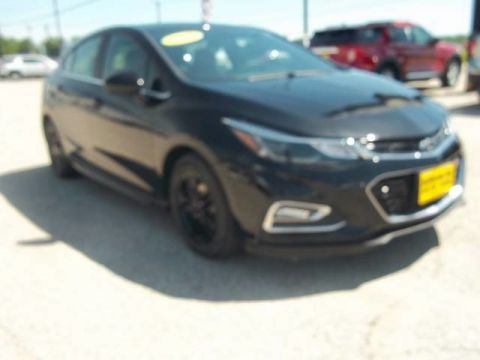 Pre-Owned 2017 Chevrolet Cruze LT Front Wheel Drive Hatchback A13441
