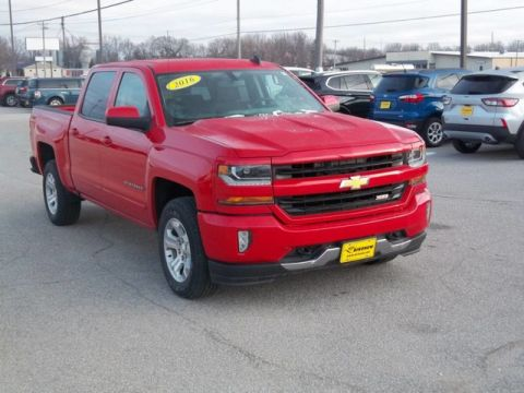 Pre-Owned 2016 Chevrolet Silverado 1500 LT Four Wheel Drive Pickup Truck A13381