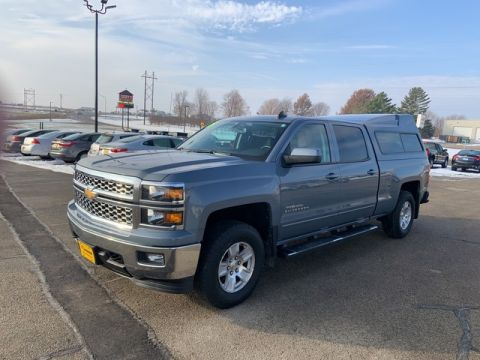 Pre-Owned 2015 Chevrolet Silverado 1500 LT Four Wheel Drive Pickup Truck M804