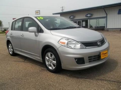 Pre-Owned 2010 Nissan Versa 1.8 S Front Wheel Drive Hatchback 19T6602A